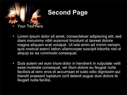 Stigmata PowerPoint Template, Slide 2, 09033, Religious/Spiritual — PoweredTemplate.com
