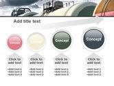 Rail Tank Cars PowerPoint Template#13