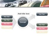 Rail Tank Cars PowerPoint Template#14