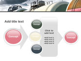 Rail Tank Cars PowerPoint Template#17