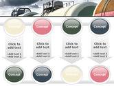 Rail Tank Cars PowerPoint Template#18