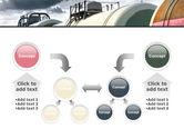 Rail Tank Cars PowerPoint Template#19