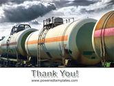 Rail Tank Cars PowerPoint Template#20