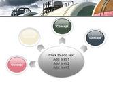 Rail Tank Cars PowerPoint Template#7