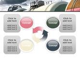 Rail Tank Cars PowerPoint Template#9