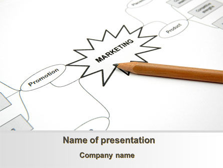 Consulting: Marketing Mix PowerPoint Template #09040