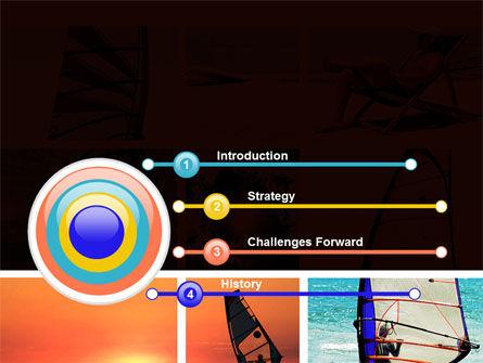 Windsurfing PowerPoint Template, Slide 3, 09041, Sports — PoweredTemplate.com