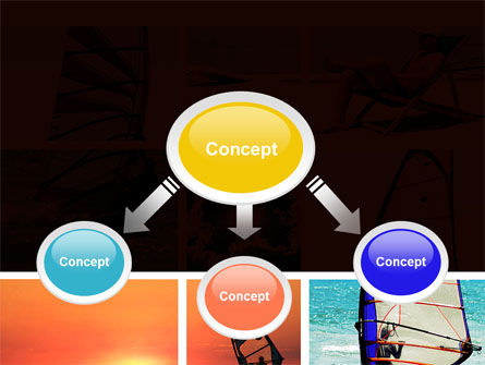 Windsurfing PowerPoint Template Slide 4