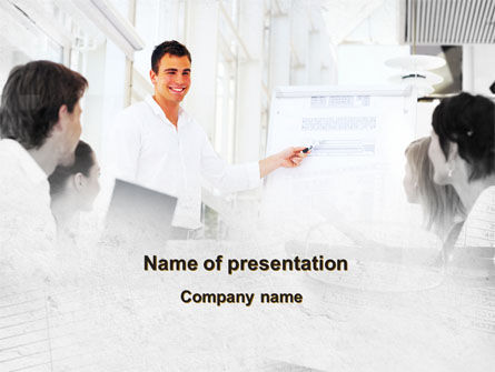 Presentation Of Consultant PowerPoint Template, 09043, Consulting — PoweredTemplate.com