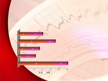 Cardiogram Band PowerPoint Template Slide 11