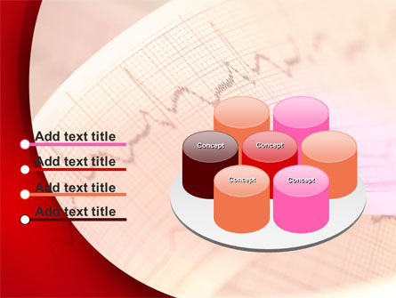 Cardiogram Band PowerPoint Template Slide 12