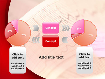 Cardiogram Band PowerPoint Template Slide 16