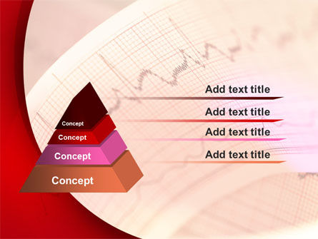 Cardiogram Band PowerPoint Template, Slide 4, 09045, Medical — PoweredTemplate.com