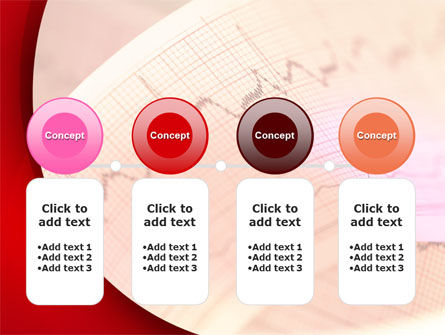 Cardiogram Band PowerPoint Template Slide 5