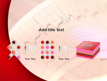 Cardiogram Band PowerPoint Template Slide 9