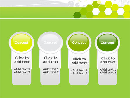 Yellow Cells PowerPoint Template Slide 5