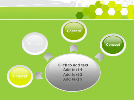 Yellow Cells PowerPoint Template Slide 7
