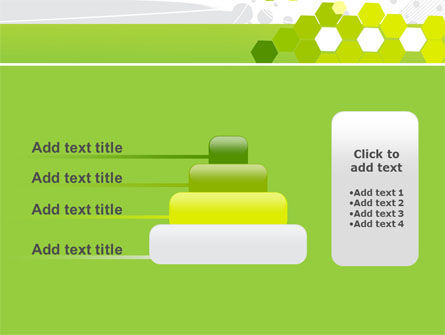 Yellow Cells PowerPoint Template Slide 8
