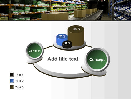 Automated Warehouse PowerPoint Template Slide 16