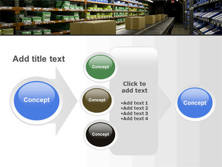 Automated Warehouse PowerPoint Template Slide 17
