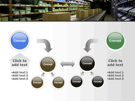 Automated Warehouse PowerPoint Template Slide 19