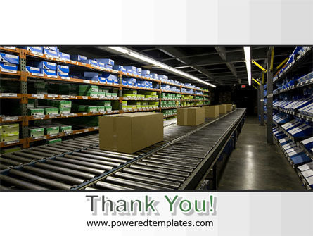 Automated Warehouse PowerPoint Template Slide 20