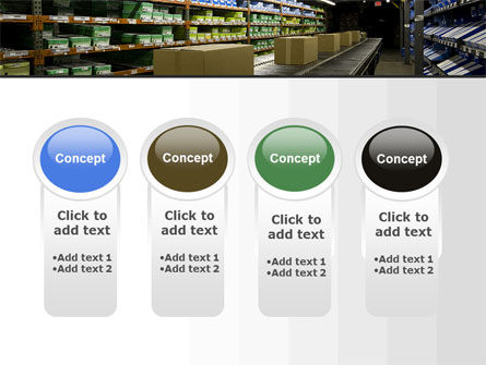 Automated Warehouse PowerPoint Template Slide 5