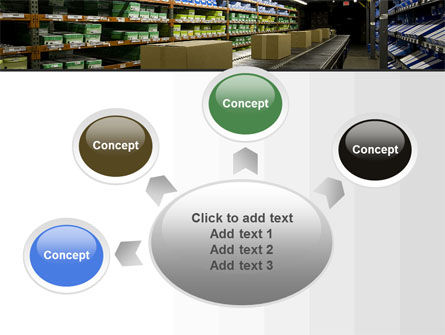 Automated Warehouse PowerPoint Template Slide 7