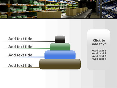 Automated Warehouse PowerPoint Template Slide 8