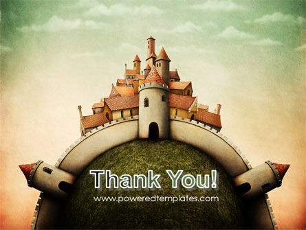 Fantasy Castle PowerPoint Template Slide 20
