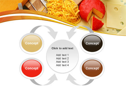 Hard Cheese And Milk PowerPoint Template Slide 6