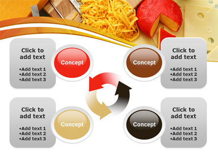Hard Cheese And Milk PowerPoint Template Slide 9
