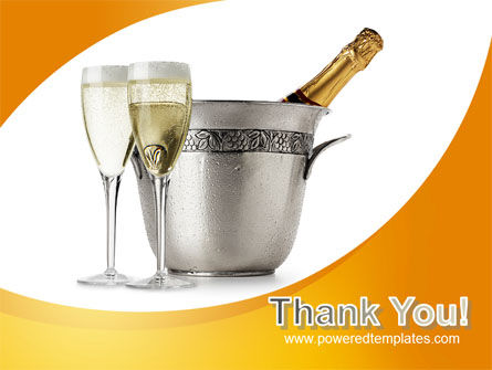 Champagne In A Silver Bucket PowerPoint Template Slide 20