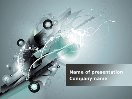 Abstract/Textures: Abstract Pattern PowerPoint Template #09059