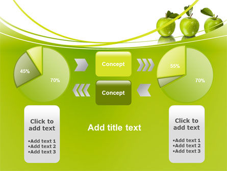 Green Apples PowerPoint Template Slide 11