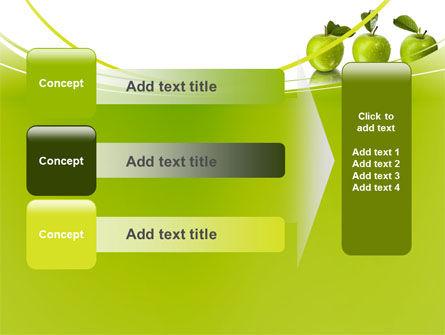 Green Apples PowerPoint Template Slide 12
