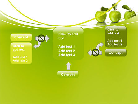 Green Apples PowerPoint Template Slide 13