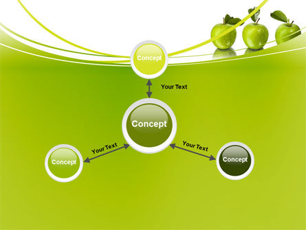 Green Apples PowerPoint Template Slide 14