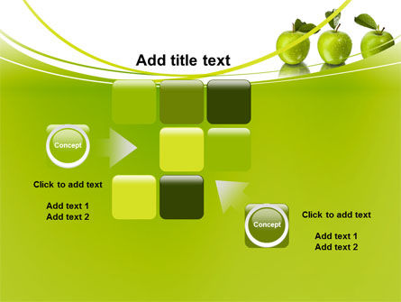 Green Apples PowerPoint Template Slide 16