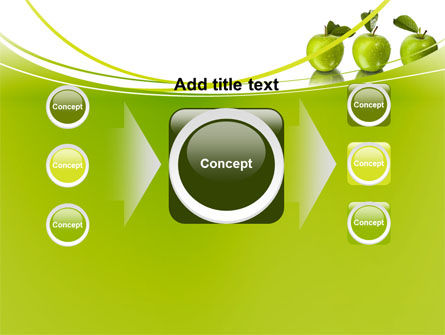Green Apples PowerPoint Template Slide 17