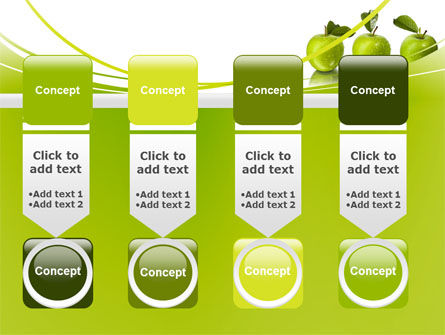 Green Apples PowerPoint Template Slide 18