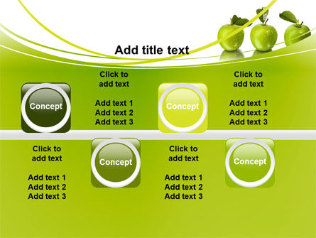 Green Apples PowerPoint Template Slide 19