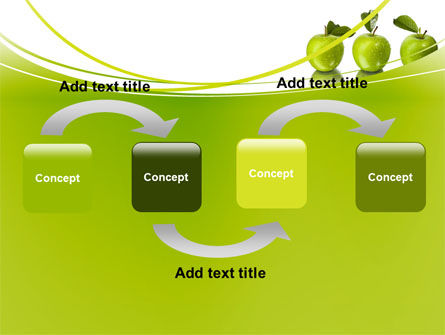 Green Apples PowerPoint Template Slide 4