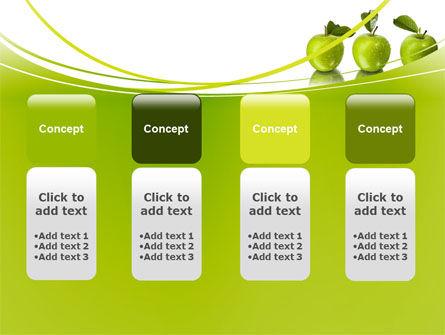 Green Apples PowerPoint Template Slide 5