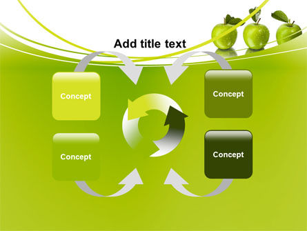 Green Apples PowerPoint Template Slide 6