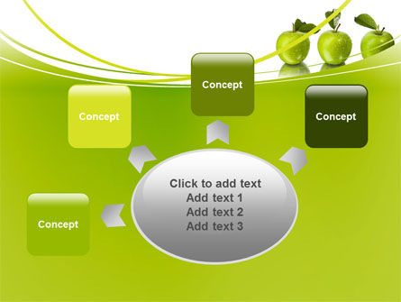 Green Apples PowerPoint Template Slide 7