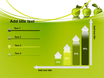 Green Apples PowerPoint Template Slide 8