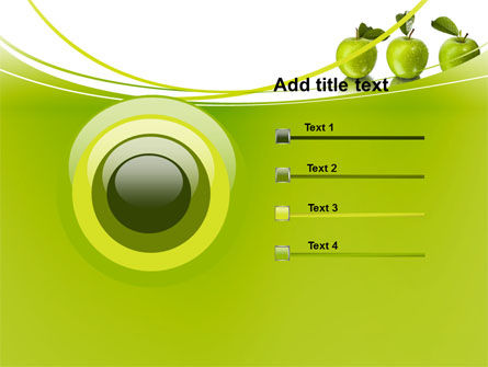 Green Apples PowerPoint Template Slide 9