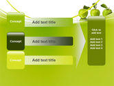 Green Apples PowerPoint Template#12