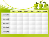 Green Apples PowerPoint Template#15